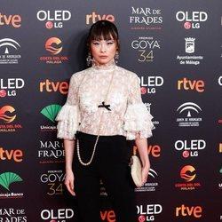 Chacha Huang en la fiesta de los nominados a los Premios Goya 2020