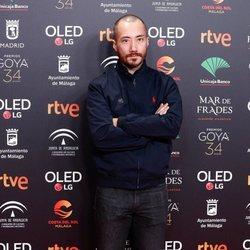 Jaime Alekos en la fiesta de los nominados a los Premios Goya 2020