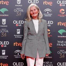 Benedicta Sánchez en la fiesta de los nominados a los Premios Goya 2020