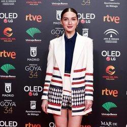 María Valverde en la fiesta de los nominados a los Premios Goya 2020