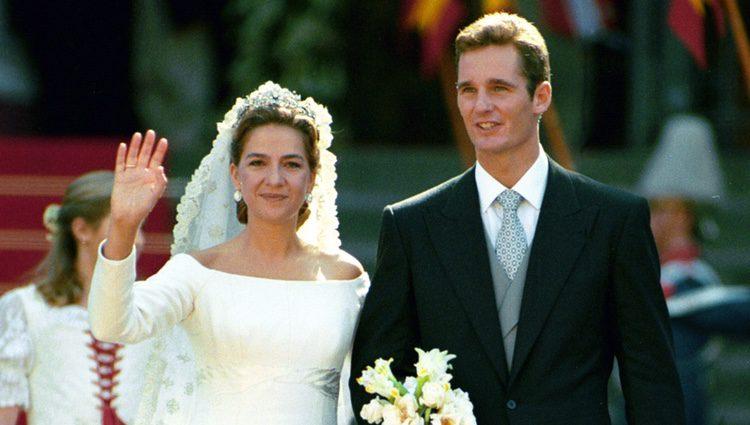 Resultado de imagen para Cristina Iñaki Urdangarín boda