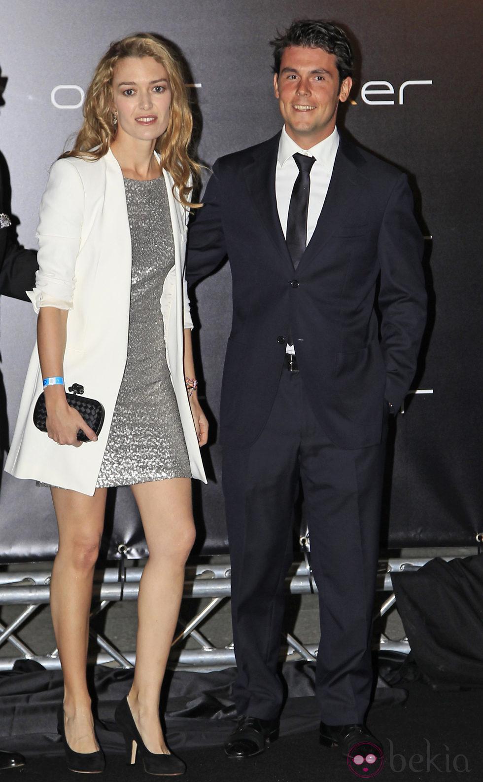 Marta Ortega y Sergio Álvarez