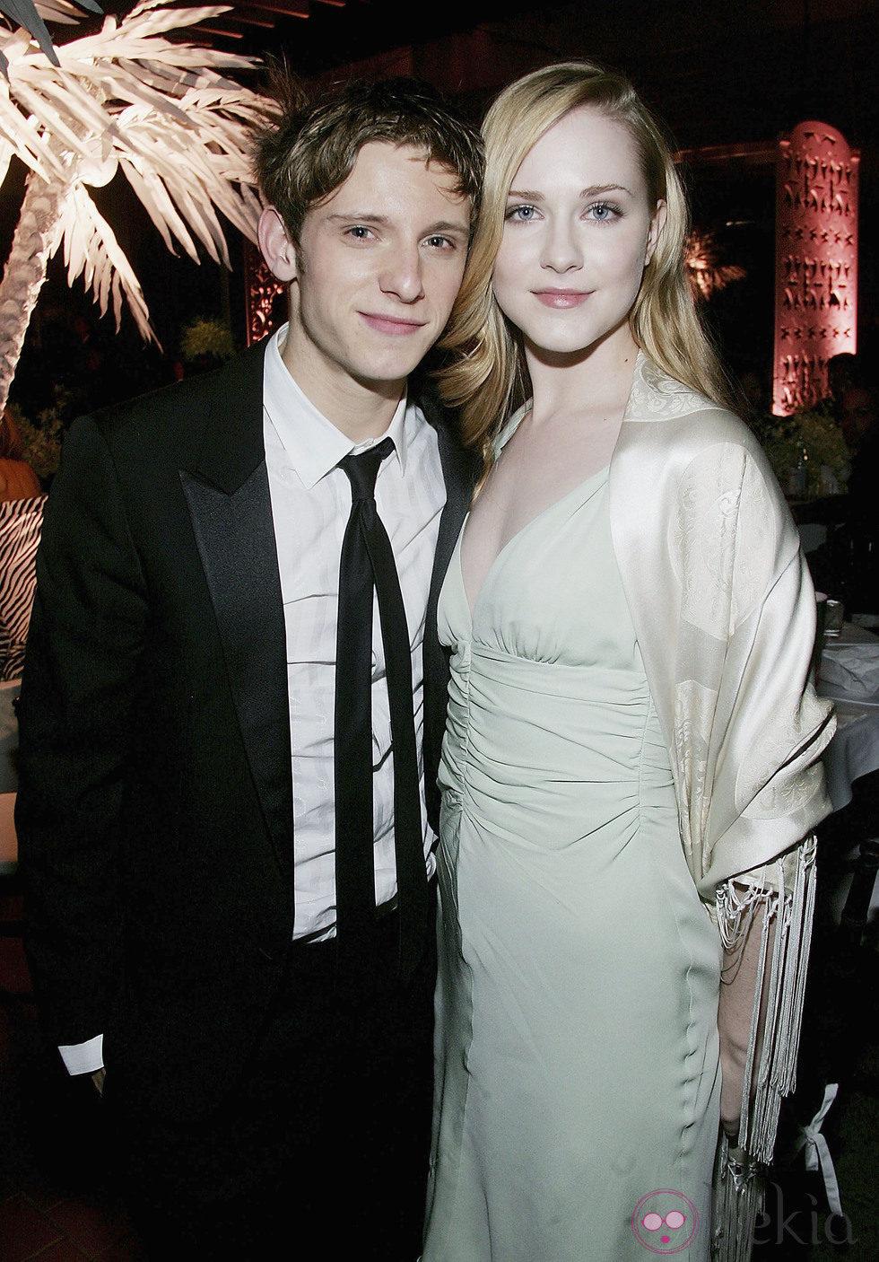 Jamie bell y Evan Rachel Wood