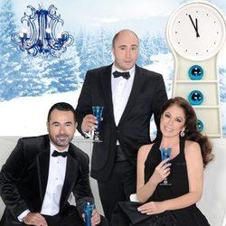 Jorge Javier Vázquez, Isabel Pantoja y Kiko Rivera promocionan las Campanadas 2011 de Telecinco