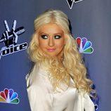 Christina Aguilera en la presentación de la nueva temporada de 'The Voice'