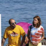 Kiko Rivera y Jessica Bueno de vacaciones en la playa
