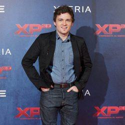 Adam Jezierski en el estreno de XP3D en Madrid