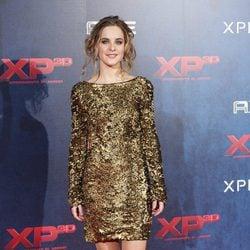 Alba Ribas en el estreno de XP3D en Madrid