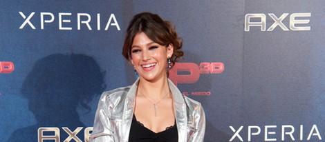 Úrsula Corberó en el estreno de XP3D en Madrid