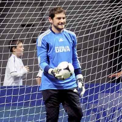 Iker Casillas en el 'Partido x la Ilusión'