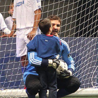 El lado más tierno de Iker Casillas en el 'Partido x la Ilusión'