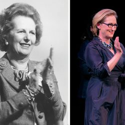 Meryl Streep ha interpretado a Margaret Thatcher