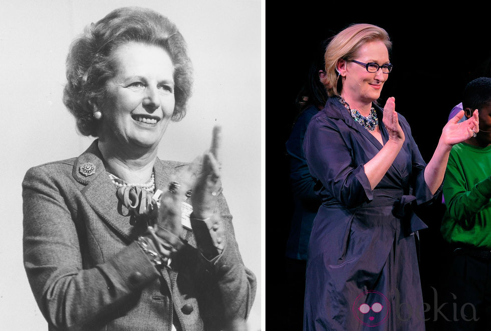 Meryl Streep ha interpretado a Margaret Thatcher
