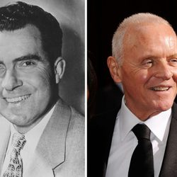 Anthony Hopkins ha interpretado a Richard Nixon