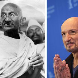 Sir Ben Kingsley ha interpretado a Mahatma Gandhi