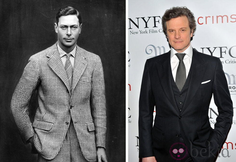 Colin Firth ha interpretado al Rey Jorge VI