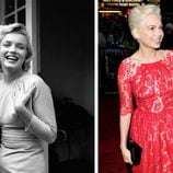Michelle Williams ha interpretado a Marilyn Monroe