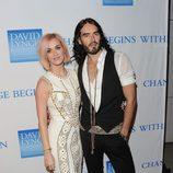 El matrimonio formado por Katy Perry y Russell Brand
