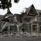 Destrozos provocados por el terremoto de Nueva Zelanda en 2011