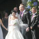 Andrea Corr y su marido Brett Desmond