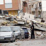 Edificios derrumbados por el terremoto de Lorca en 2011