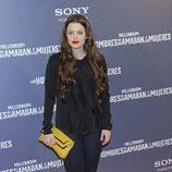 Adriana Torrebejano en el estreno de 'Los hombres que no amaban a las mujeres'