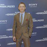 Daniel Craig en el estreno de 'Los hombres que no amaban a las mujeres'