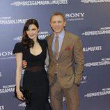 Daniel Craig y Rachel Weisz en el estreno de 'Los hombres que no amaban a las mujeres'