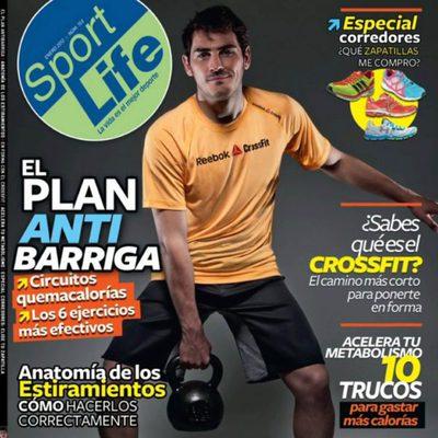 Iker Casillas en la portada 'Sport Life'