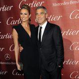 George Clooney y Stacy Keibler en el Festival Internacional de Cine de Palm Springs