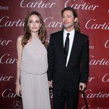 Angelina Jolie y Brad Pitt en el Festival Internacional de Cine de Palm Springs