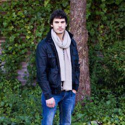 Adrián Expósito en la presentación de 'Toledo'
