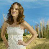 Amber Valletta en la foto promocional de la serie 'Revenge'