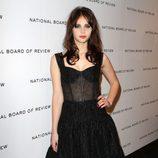 Felicity Jones en los premios de la Sociedad Nacional de Críticos de Cine