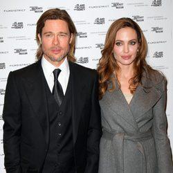 Angelina Jolie y Brad Pitt en Washington