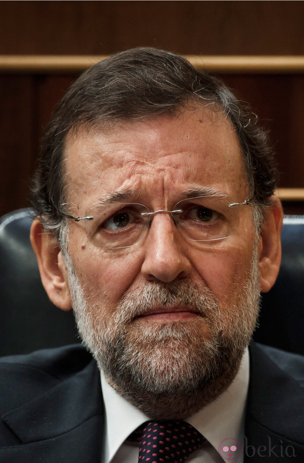 Mariano Rajoy triste