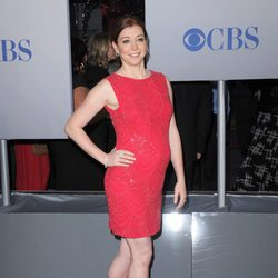 Alyson Hannigan luce embarazo en los People's Choice Awards 2012