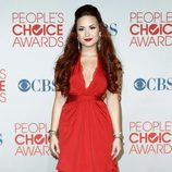 Demi Lovato en los People's Choice Awards 2012
