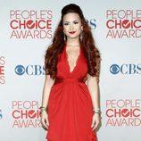 Demi Lovato en los People's Choice Awards 2012