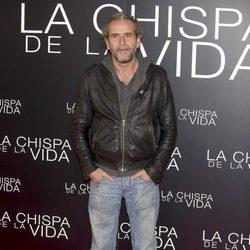 Guillermo Toledo en el estreno de 'La chispa de la vida'