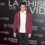 Javier Calvo en el estreno de 'La chispa de la vida'