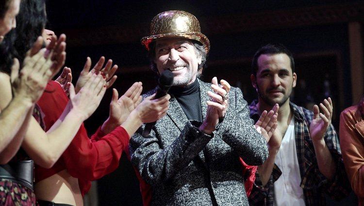 Joaquín Sabina recibe el Bombín de Oro