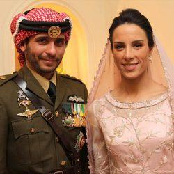 Los Príncipes Hamzah y Basma de Jordania recién casados