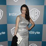 Andie MacDowell en la fiesta organizada por Warner Bros tras los Globos de Oro 2012