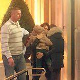Penélope Cruz y su hijo Leo en Londres