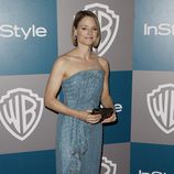 Jodie Foster en la fiesta organizada por Warner Bros tras los Globos de Oro 2012