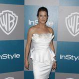Kate Walsh en la fiesta organizada por Warner Bros tras los Globos de Oro 2012