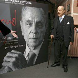 Manuel Fraga en la presentación de su biografía