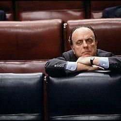 Manuel Fraga en el Congreso de los Diputados en 1988