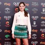 Carmen Arrufat en la fiesta de los nominados a los Premios Goya 2020